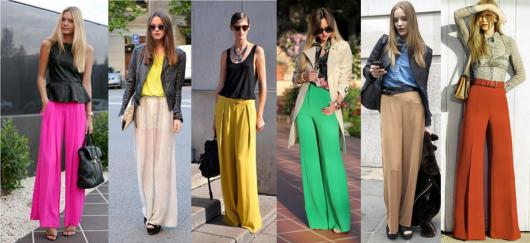 Lindas pantalonas com modelos em todas as cores.