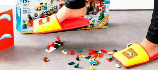 exemplo de pantufas femininas diferentes pantufa lego