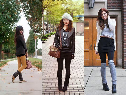 calça legging com polaina neutra