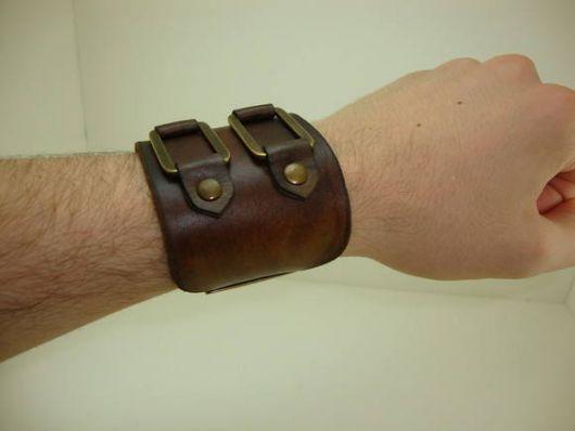 pulseira e bracelete masculino couro