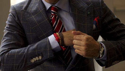 pulseira masculina roupa social