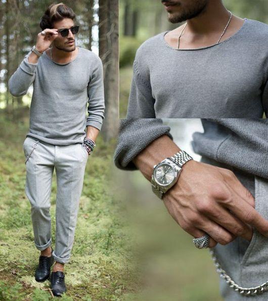 pulseiras masculinas com relógio