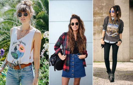 roupas de rockeiras - óculos