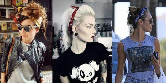 roupas de rockeiras - rockers
