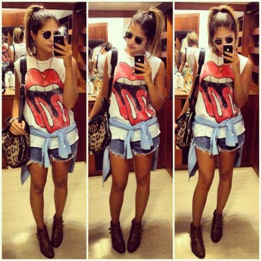 roupas de rockeiras - blogueira Thássia Naves