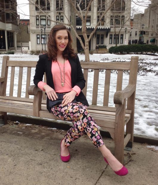 visual inverno com sapatilha pink