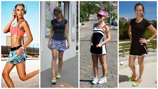 Short saia fitness: modelos e looks inspiradores!