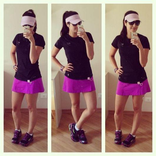 23da51feb Short saia fitness  modelos e looks inspiradores!