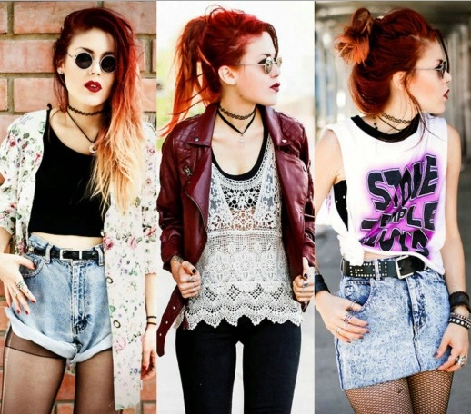 3 looks com tattoo choker