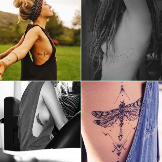 Tatuagem na costela: feminina e misteriosa!