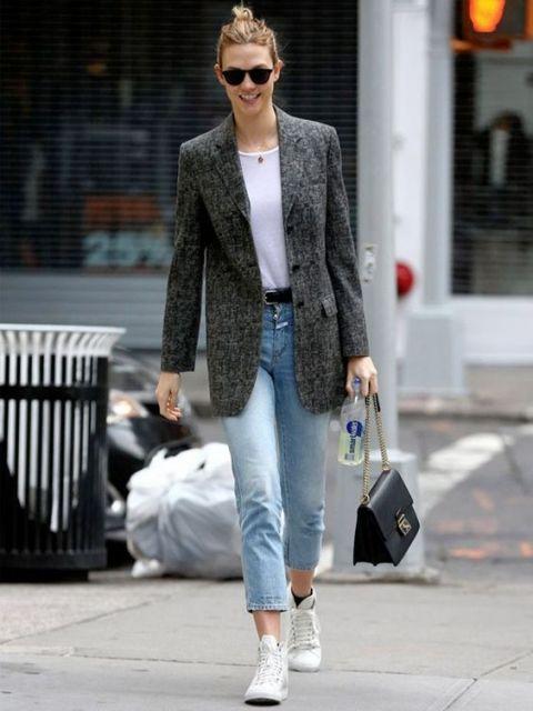 jeans com blazer
