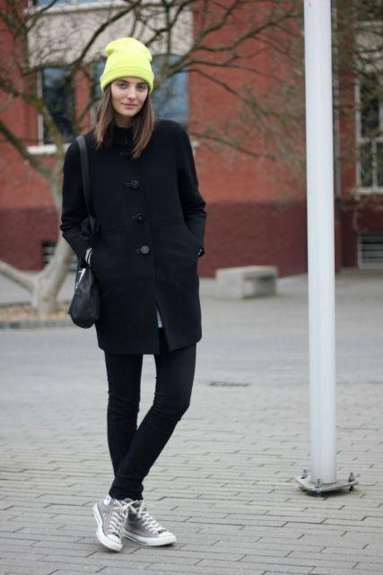 casaco preto