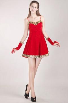 vestido de formatura vermelho curto simples