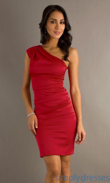 vestido de festa vermelho curto