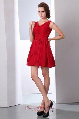vestido de formatura vermelho para convidada