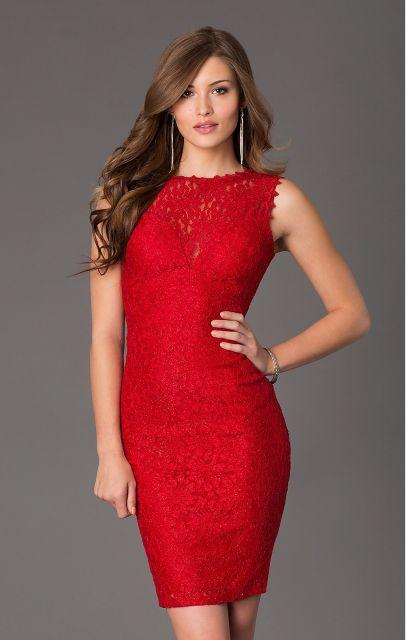 Vestido de formatura vermelho - fotos, modelos e dicas de como escolher!