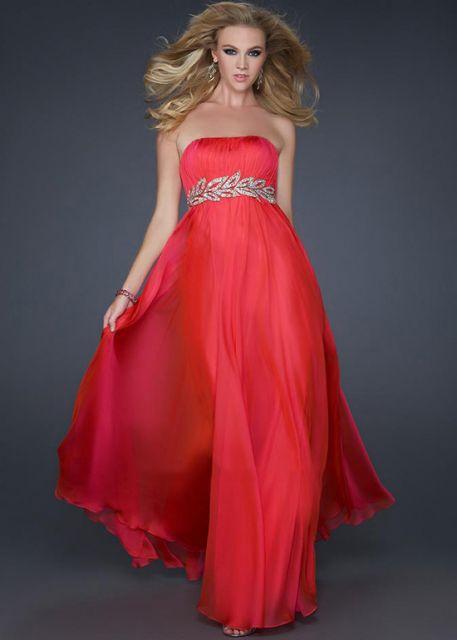 vestido de formatura vermelho tomara que caia