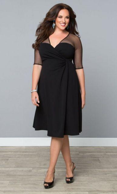 Onde comprar vestido de festa preto