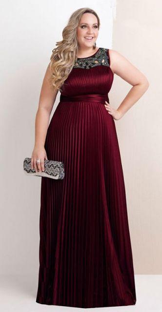 vestidos longos para baixinhas plus size