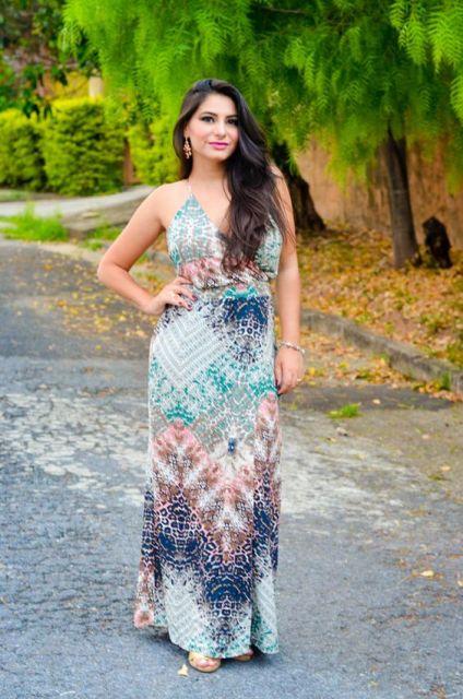 vestido longo para baixinha cores