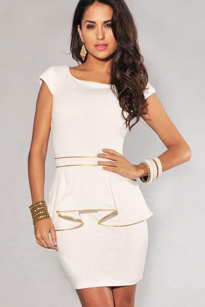 dicas de vestidos para trabalhar branco