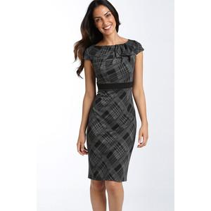 vestidos para usar no trabalho cinza simples