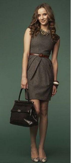 vestidos para trabalhar combinando com bols