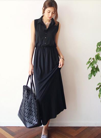 vestidos para trabalhar modelos longos
