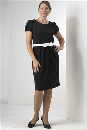 vestidos para trabalhar modelo plus size