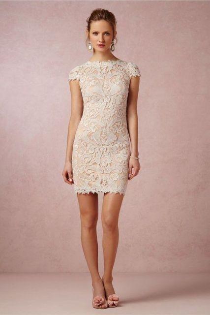vestido branco tubinho