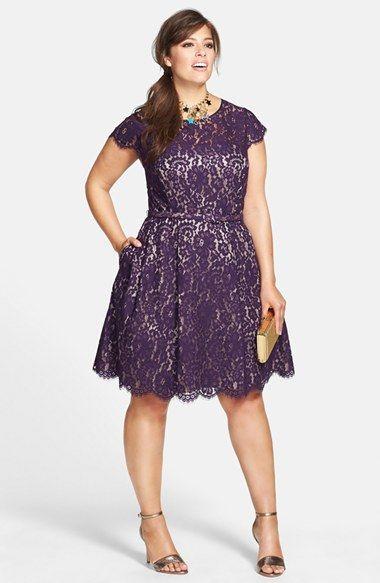 vestido rodado plus size