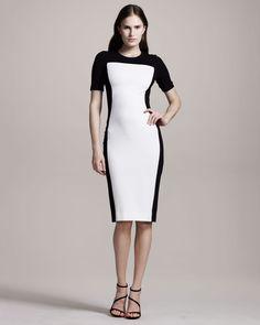 vestir para casmmento simples preto e branco