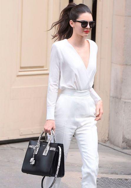 Estilo casual Look Branco