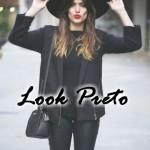 LOOK PRETO: Muitas dicas e 40 fotos para você se inspirar!