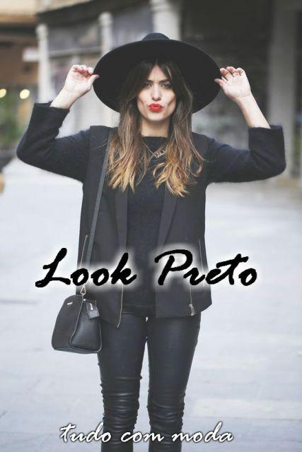 LOOK PRETO  Muitas dicas e 40 fotos para você se inspirar! 4cc0f8379e3