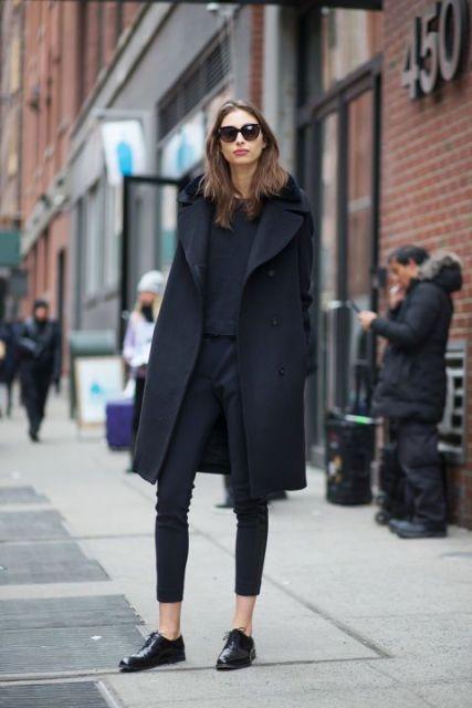 Look preto inverno