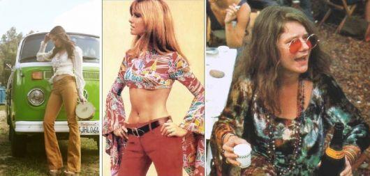 Moda hippie anos 70