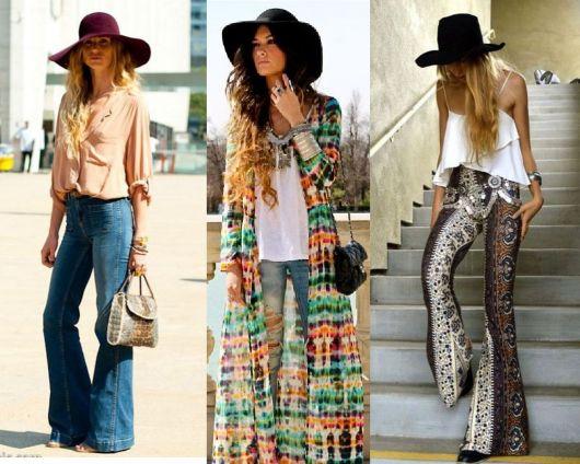 Moda hippie chap´´eu