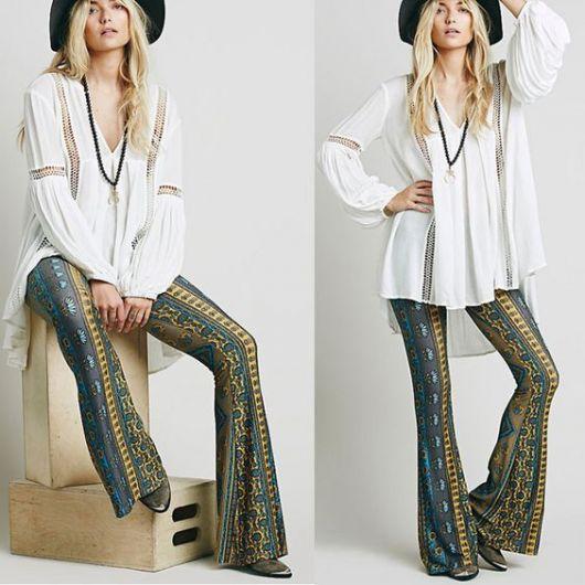 Moda hippie feminina inspire se com modelos e looks lindos - Mode hippie chic ...