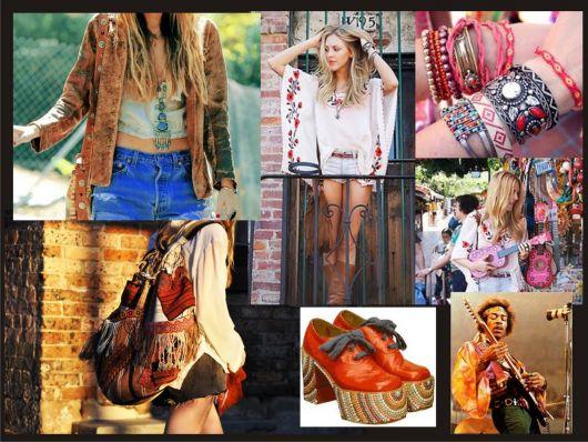 Moda hippie estilos