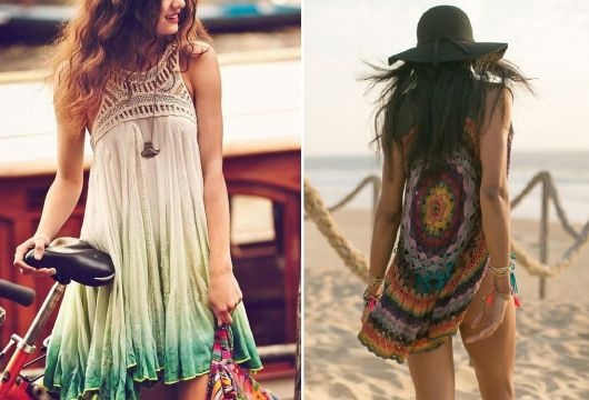 Moda hippie look