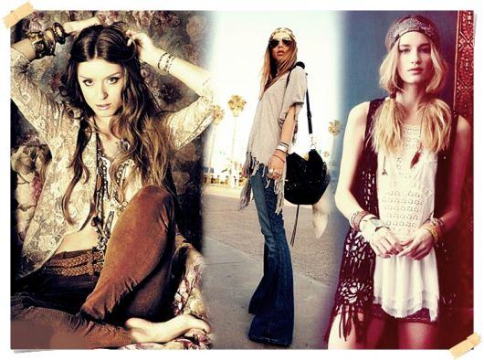 Moda hippie meninas