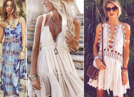 Moda hippie vestidinhos