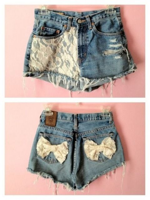 Short destroyed - com renda