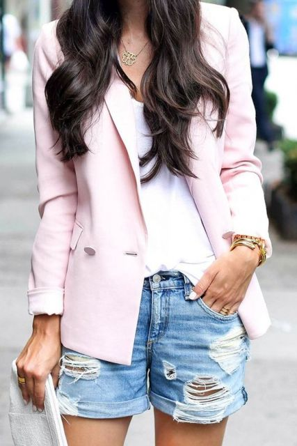 Short destroyed - look com blazer