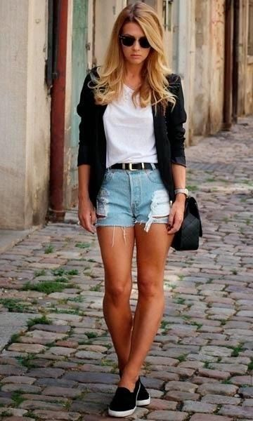 Short destroyed - look diferente