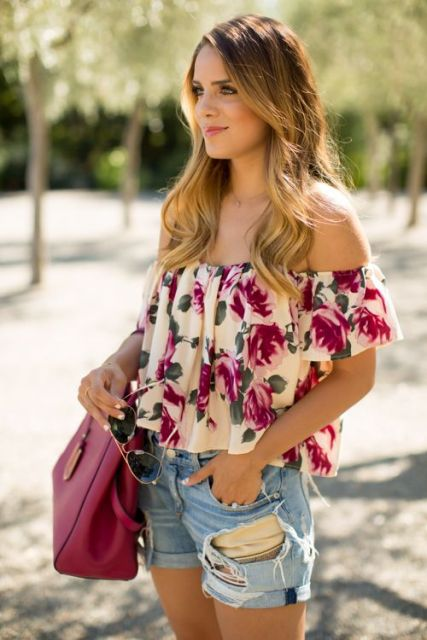 Short destroyed - look floral