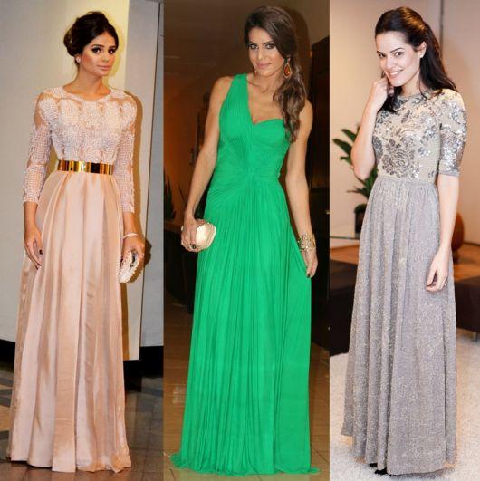 Vestidos de gala blogueiras