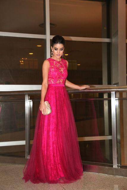 Vestidos de gala pink