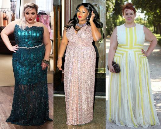 Vestidos de gala plus size